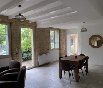 Rénovation maison pour location haut de gamme
